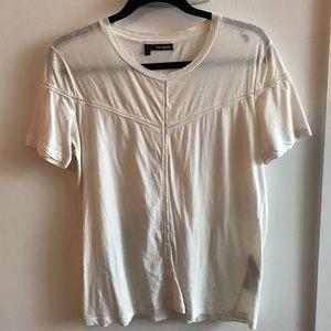 The Kooples white tee shirt
